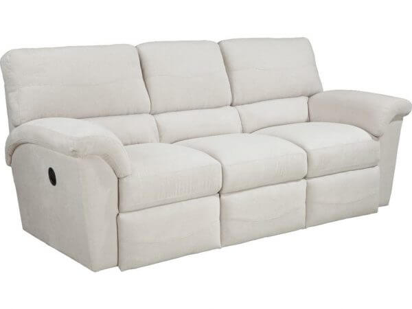 La-Z-Boy Living Room Reese Three Cushion La-Z-Time Full Reclining Sofa